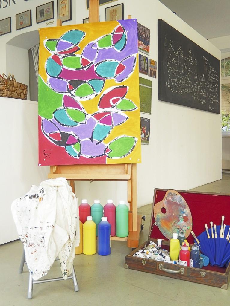 Casa Colore Atelier für freies Malen